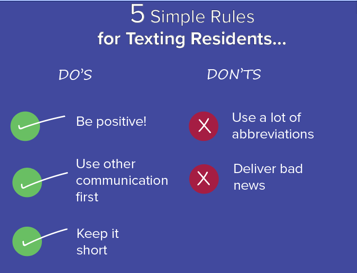 Texting for Your Apartment Marketing Efforts has never been easier!